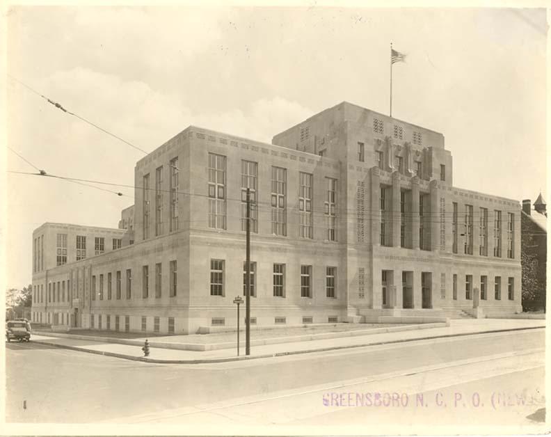 Greensboro, North Carolina (1933) | Federal Judicial Center